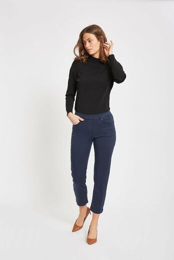 Hannah Regular Housut, 28362 navy