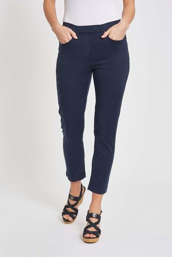 Faith Slim Cropped -housut, 27962, sininen